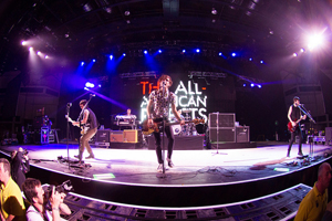 Photo Of The All American Rejects © Copyright Neil Oliver